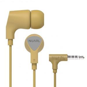 【公式ストア】NUARL NE1000 リモコンマイク付き ステレオイヤホン(イエロー)|nuarl