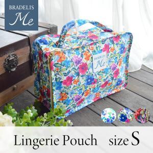 ブラデリスから、華やかなボタニカル柄のポーチが新登場! ランジェリーや衣類を収納できるポーチです。ス...