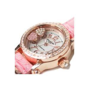 レディース腕時計/アレサンドラオーラ 人気 ピンクゴールド ハートチャーム AO-770全4色/腕時計/女性用腕時計|nuchigusui