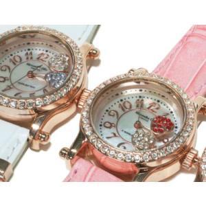 レディース腕時計/アレサンドラオーラ 人気 ピンクゴールド ハートチャーム AO-770全4色/腕時計/女性用腕時計|nuchigusui|03