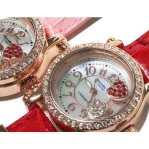 レディース腕時計/アレサンドラオーラ 人気 ピンクゴールド ハートチャーム AO-770全4色/腕時計/女性用腕時計|nuchigusui|04