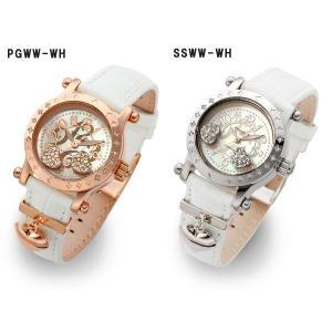 レディース腕時計/アレサンドラオーラ 人気 ピンクゴールド アレッサンドラオーラ ハートチャーム/腕時計/女性用腕時計|nuchigusui|02