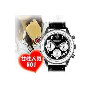 メンズ腕時計|GRANDEUR グランドール  OSC028W1 黒 カラフル|nuchigusui