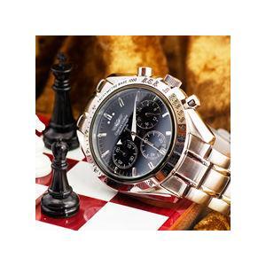 クロノグラフ シャルルホーゲル クロノグラフ 選べる2色 ブラック/ホワイトメンズ腕時計 CharlesVogeleギフト 男性用 クロノグラフ nuchigusui