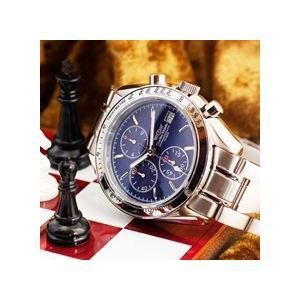 クロノグラフ シャルルホーゲル クロノグラフ 選べる2色 ダークブルー/ブラックメンズ腕時計 CharlesVogeleギフト 男性用 クロノグラフ nuchigusui