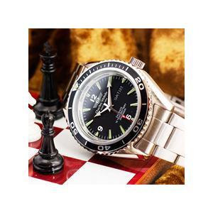 シャルルホーゲル 20気圧ダイバーウォッチ 選べる2色 メンズ腕時計 CharlesVogeleギフト 男性用 nuchigusui