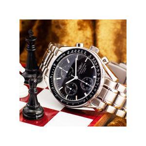 クロノグラフ シャルルホーゲル クロノグラフ メンズ腕時計 CharlesVogeleギフト 男性用 クロノグラフ nuchigusui