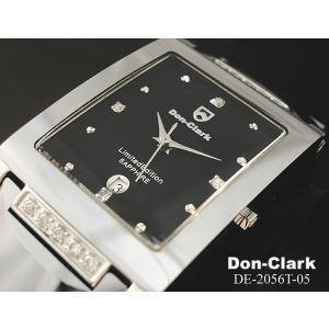 クロノグラフ ダンクラーク 人気 クロノグラフ メンズ腕時計 DON CLARK天然ダイヤ 全2色ギフト クロノグラフ|nuchigusui