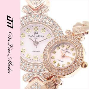 JJ掲載 ドルチェ・メディオ 人気 天然ダイヤ12P DolceMedio レディース腕時計 DM8501|nuchigusui