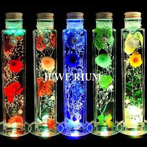 ハーバリウム 母の日 ギフト セット ジュエリー ハーバリウム 光る プリザーブドフラワー プレゼント 女性 花 LEDコースター付き|nuchigusui|05