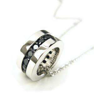 ネックレス ブラック シルバー ララクリスティー LARA Christie ホワイトデー プレゼント ギフト セール 贈り物|nuchigusui