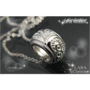 ネックレス ホワイト シルバー ララクリスティー LARA Christie クリスマス プレゼント ギフト セール 贈り物|nuchigusui