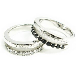 ペアリング 指輪 ペアアクセサリー シルバー ララクリスティー LARA Christie プレゼント ギフト 贈り物 nuchigusui
