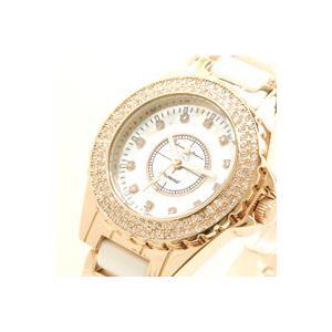 AneCan掲載人気 サルバトーレ・マーラ   ピンクゴールド 天然ダイヤ レディース腕時計 Salvatore Marra SM7040|nuchigusui