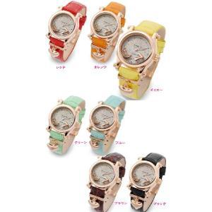 レディース腕時計/アレサンドラオーラ 人気 ピンクゴールド  限定!AO-5151選べる13色/腕時計/女性用腕時計|nuchigusui|03