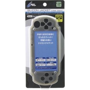 サイバーガジェット CYBER・シリコンジャケット(PSP3000専用)クリアブラックの商品画像|ナビ