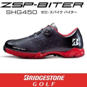 ブリヂストン  ZSP-BITER SHG450 ゼロ・スパイク バイター ゴルフシューズ ブラック 日本仕様|number7