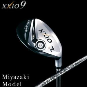 ダンロップ  XXIO 9 ユーティリティ Miyazaki Model  Miyazaki Melas カーボンシャフト|number7
