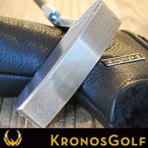 KRONOS GOLF 2015数量限定 PATINA Brush Brass パター 34インチシリアルナンバー「7」|number7