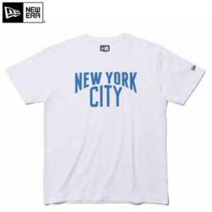 ニューエラ 2017 Cotton Tee New York City Tシャツ ホワイト × ブルー 11403657|number7