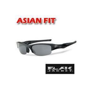 オークリー フラックジャケット 03-881J アジアンフィット サングラス Jet Black/Black Iridium [OAKLEY FLAK JACKET]|number7