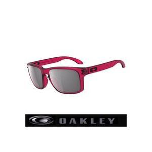 サングラス オークリー (OAKLEY)ホルブルック サングラス OO9102-37 Crystal Pink/Grey|number7