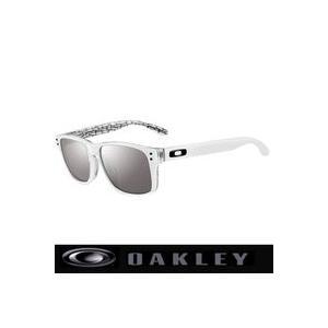サングラス オークリー (OAKLEY) ホルブルック  アジアンフィット OO2038-06 White/Slate Iridium|number7