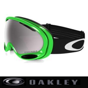 ゴーグル オークリー (OAKLEY) Green Collection PRIZM A Frame 2.0 Snow ゴーグル 59-749 GREEN/MLS WITH BLACK IRIDIUM|number7