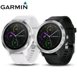 GARMIN  vivoactive3 GPSスマートウォッチ 日本正規品 White Stainless / Black Stainless|number7