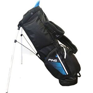 PING 2019 Hoofer Monsoon キャリーバッグ  US仕様  Black / Birdie /Blue|number7