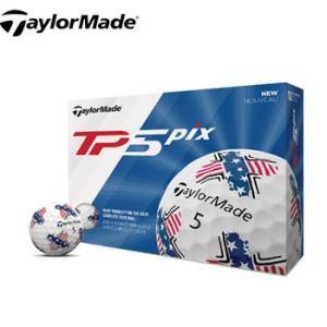 テーラーメイド 2019 TP5 Pix USA ゴルフボール US仕様|number7