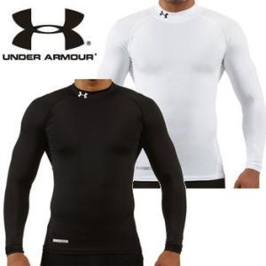 UNDER ARMOUR 春夏用  UA ヒートギアコンプレッション LSモックシャツ MCM8114 アンダーアーマー >[アンダーアーマー  ゴルフウェア  長袖]|number7