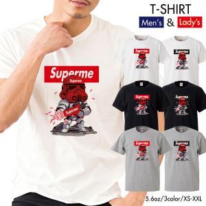 ストリート大人気ブランドTシャツ オリジナル Superman Superme ダース かっこいい ...