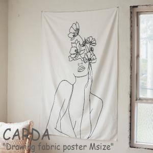 カルダ タペストリー CARDA ドローイング ファブリックポスター Drawing fabric poster Mサイズ スケッチ 韓国インテリア おしゃれ 2697889-03 ACC|nuna-ys