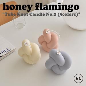 ハニーフラミンゴ キャンドル honey flamingo Tube Knot Candle No.2 チューブ ノット 香り付きキャンドル2 3色 韓国雑貨 インテリア小物 おしゃれ 2505683 ACC nuna-ys