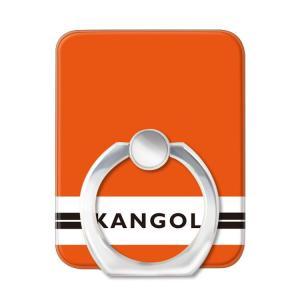 スマホリング スマートフォンリング KANGOL カンゴール Gizmobies KANGOL LINE(ORG) お取り寄せ|nuna-ys