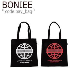 ボニー トートバッグ BONIEE メンズ レディース code pay_bag コード ペイ バッグ WHITE RED ホワイト レッド 300771294/5 バッグ nuna-ys
