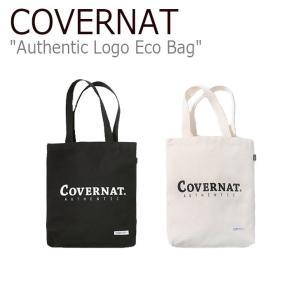 カバーナット トートバッグ Covernat メンズ レディース AUTHENTIC LOGO ECO BAG オーセンティック ロゴ エコバッグ C1802BG01IV/BK バッグ nuna-ys