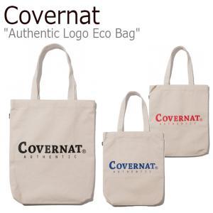 カバーナット トートバッグ Covernat メンズ レディース AUTHENTIC LOGO ECO BAG オーセンティック ロゴ エコバッグ C1906BG05BL/RD/BK バッグ nuna-ys