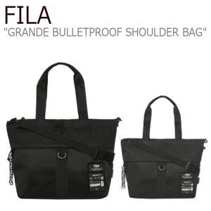 フィラ ショルダーバッグ FILA Project 7 GRANDE BULLETPROOF SHOULDER BAG プロジェクト 7 グランデ ブレットプルーフ BLACK JET BLACK FS3BCC6B01X バッグ nuna-ys