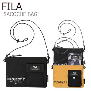 フィラ サコッシュ FILA Project 7 SACOCHE BAG プロジェクト 7 サコッシュバッグ BLACK ブラック KHAKI カーキ MUSTARD マスタード FS3BCC6B04X バッグ nuna-ys