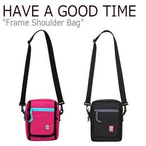 ハブアグットタイム クロスバッグ HAVE A GOOD TIME FRAME SHOULDER BAG フレーム ショルダーバッグ ピンク ブラック FLGD9A1B31/2 HGT19SXSD0024 バッグ|nuna-ys