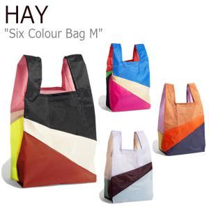 ヘイ トートバッグ HAY メンズ レディース SIX COLOUR BAG M シックス カラーバッグ Msize MULTI色 507665/6/7/8 バッグ nuna-ys