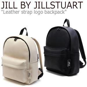 ジル バイ ジルスチュアート リュック JILL BY JILLSTUART Leather strap logo backpack レザー ストラップ ロゴ バックパック JLBA0E711BK/2I2 バッグ|nuna-ys
