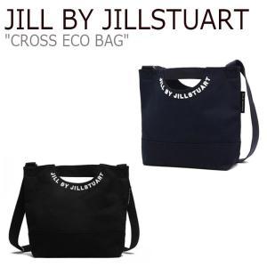 ジル バイ ジルスチュアート ショルダーバッグ JILL BY JILLSTUART CROSS ECO BAG クロス エコバッグ NAVY BLACK JLBA0E825BK/8N2 バッグ nuna-ys