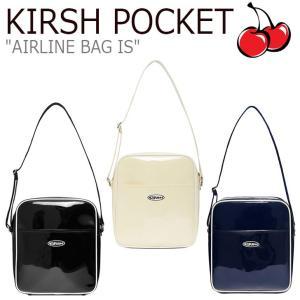 キルシーポケット クロスバッグ KIRSH POCKET AIRLINE BAG IS エアラインバッグ IVORY アイボリー BLACK ブラック NAVY ネイビー CNBA9EL09IV/BK/N2 バッグ|nuna-ys