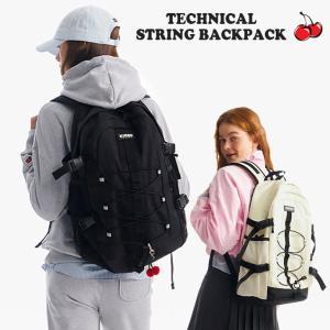 キルシーポケット リュック KIRSH POCKET メンズ レディース STRING BACKPACK JA ストリング バックパック BLACK ブラック GRAY グレー JAKP01 バッグ|nuna-ys