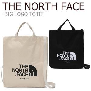 ノースフェイス トートバッグ THE NORTH FACE メンズ レディース BIG LOGO TOTE ビッグロゴ トート バッグ IVORY BLACK アイボリー ブラック NN2PK09J/L バッグ nuna-ys