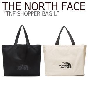 ノースフェイス トートバッグ THE NORTH FACE TNF SHOPPER BAG L ショッパーバック L BLACK IVORY ブラック アイボリー NN2PL16A/B NN2PL63B バッグ|nuna-ys