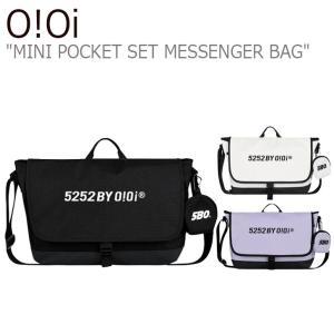 オアイオアイ クロスバッグ O!Oi メンズ レディース MINI POCKET SET MESSENGER BAG ミニ ポケット セット メッセンジャーバッグ 20FA_1D_30/01/2 バッグ|nuna-ys